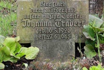 Der geheimnisvolle Grabstein im Werdauer Wald in der Nähe des Seerosenteiches.