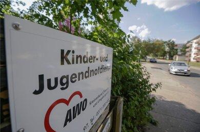 Bislang ist der Kinder- und Jugendnotdienst am Rande des Flemminggebietes ansässig. Nun werden zwei neue Einrichtungen an anderen Standorten gebaut. Foto: Toni Söll/Archiv