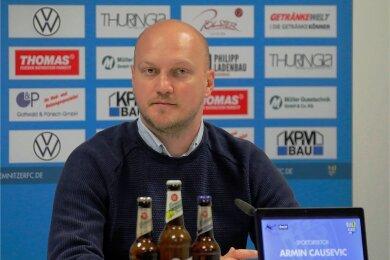 Armin Causevic wurde zu Beginn des Jahres 2020 als neuer Sportdirektor des Chemnitzer FC vorgestellt. Ein reichliches Jahr später wurde er nun wieder entlassen.