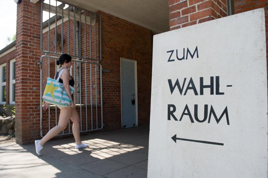 Die Wahllokale in Schleswig-Holstein waren heute bis 18 Uhr geöffnet.