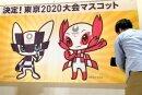 Olympia-Maskottchen in Tokio vorgestellt