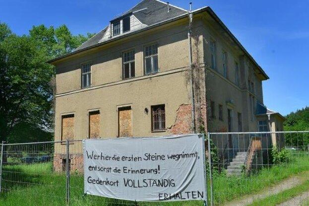 Gedenkstätte für das frühe KZ Sachsenburg wird gebaut