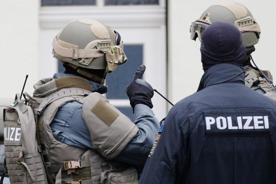Drei Terrorverdächtige in Mittelsachsen