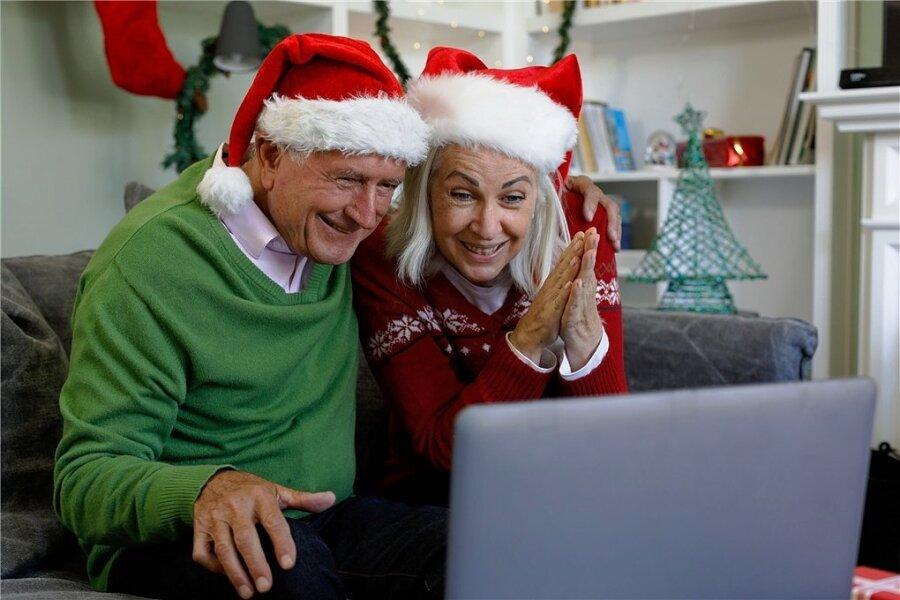 Weihnachten in Familie? Viele Großeltern werden dieses Jahr nur virtuell mit ihren Kindern und Enkeln feiern können. Der Psychologe und Psychotherapeut Wolfgang Krüger rät, sich auf dieses Experiment einzulassen.