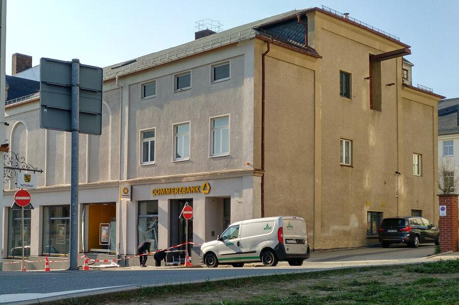 Geldautomat in Stollberg gesprengt - Polizei sucht Zeugen