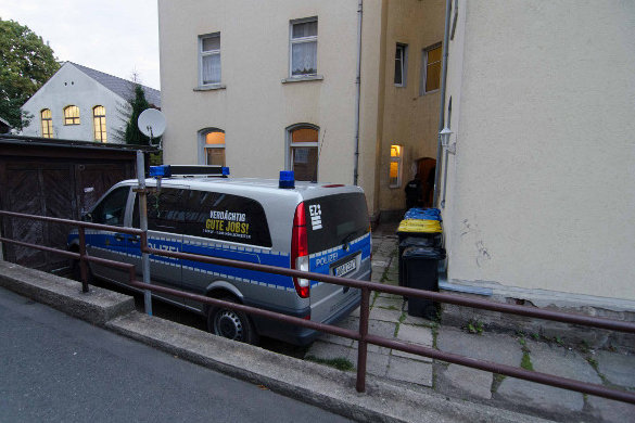 Drogenrazzia in Freiberg