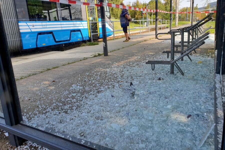 Chemnitz: Polizei stellt Randalierer in Hutholz