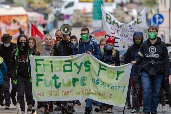 Vor einem Jahr fand die letzte Demo in der Kreisstadt statt.
