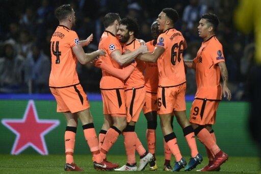 Der FC Liverpool gewinnt beim FC Porto 5:0