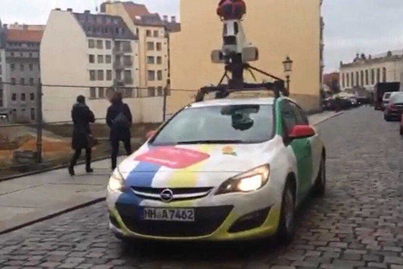 Google fährt mit Kamerawagen durch Sachsen