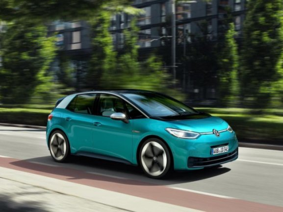 Der ID3 ist der erste Großserienwagen mit Elektroantrieb aus dem Hause VW.