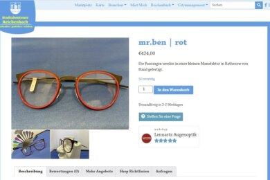 """Testseite für den lokalen Webshop. Wer oben auf """"Marktplatz"""" klickt, kann die Angebote aus Reichenbach aufrufen."""