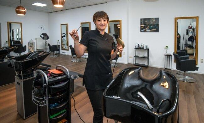 Janine Hartmann freut sich riesig, dass sie bald wieder arbeiten darf. Erst im September hatte sie ihren Salon eröffnet.