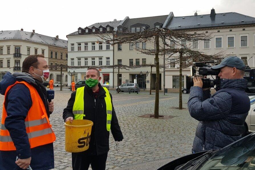 """Mach dich ran"": MDR dreht in Oelsnitz"