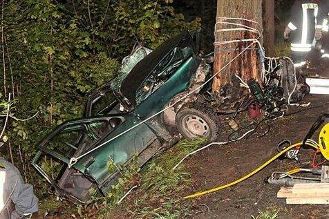 Bei einem Unfall in Schwarzenberg-Grünstädtel ist im Mai ein 18-Jähriger getötet worden.
