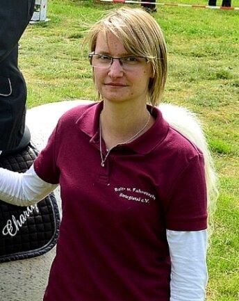 Lisa Kaminski ist Vorsitzende des RFV Striegistal.