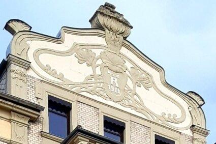 Da lässt man gern die Augen wandern: Das 1906 erbaute Chemnitzer Jugendstilhaus Mozartstraße 16.