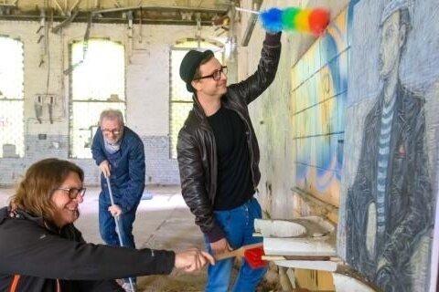 Verschiedene Künstler und Künstlerinnen werden bei der Ibug in Reichenbach teilnehmen, so auch das Trio: Kunstreiniger.