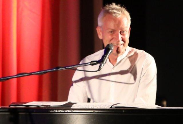 Dirk Michaelis ist die Freude über den Auftritt in Schwarzenberg anzusehen gewesen. Auch die gut 200 Zuschauer waren angetan.