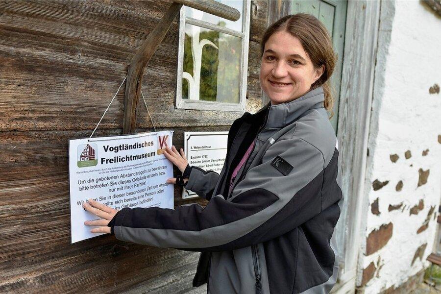 Uta Karrer, Leiterin des Vogtländischen Freilichtmuseums, wechselt ab April ins fränkische Feuchtwangen. Foto: Eckhard Sommer/Archiv