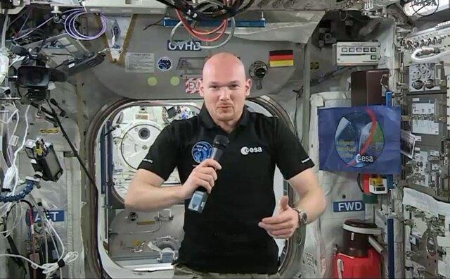 Astronaut Alexander Gerst beantwortete fast täglich an Bord der Internationalen Raumstation (ISS) Fragen per Videostream und ließ Fans an seiner Mission teilhaben.