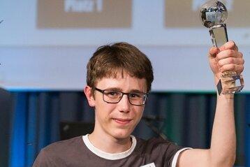 Kann es noch gar nicht richtigfassen: Maximilian Muck ist Deutschlands bester Erdkunde-Schüler.