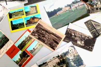 Eine Querschnitt verschiedener Epochen, festgehalten auf Fotos, hat Michael Heuck für die Ausstellung zusammengetragen.
