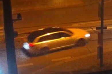 Das Fluchtfahrzeug: ein Audi A6.