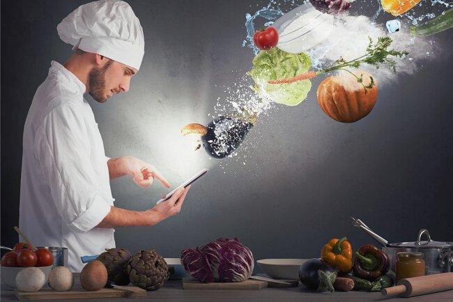 Besser kochen mit dem Handy: Im Internet finden sich Rezepte für jeden Geschmack.