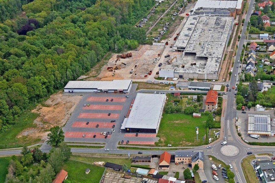 Neben Lidl, Action-Markt und Getränkemarkt in der Nähe des Drews-Geländes will Rewe einziehen.