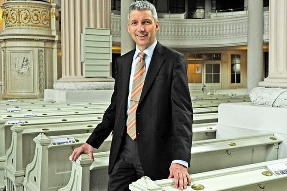 Bernhard Stief, Pfarrer an der Nikolaikirche, stammt aus Schneeberg.