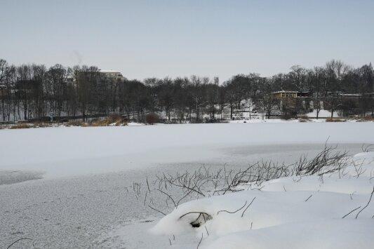 Schlittschuhlaufen verboten: Feuerwehr warnt vor Eisunfällen