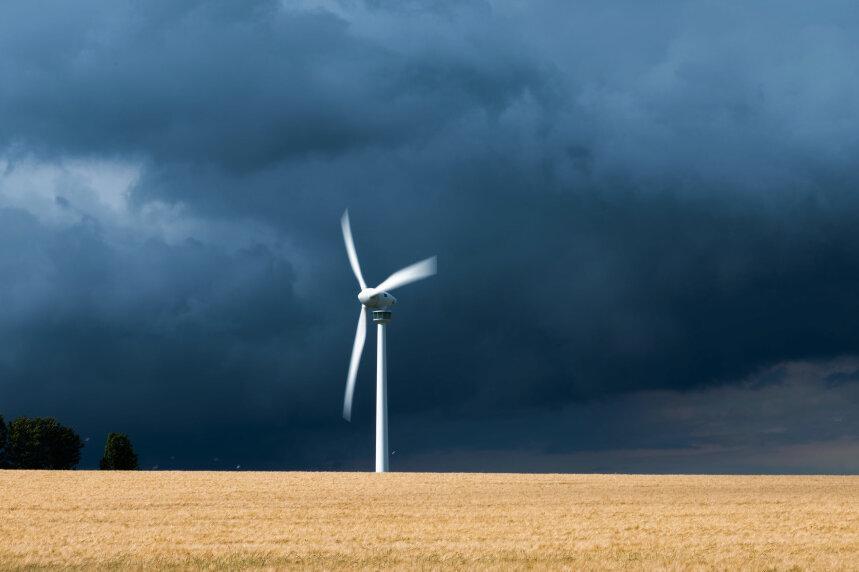 Fast 247 Meter vom Boden bis zur Spitze: Höchstes Windrad in Mittelsachsen genehmigt