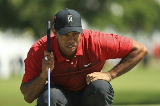 Tiger Woods kommt immer besser in Schwung