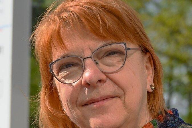Cornelia Schricker, Geschäftsführerin Agaplesion Mitteldeutschland und Bethanien Krankenhaus Chemnitz gGmbH.