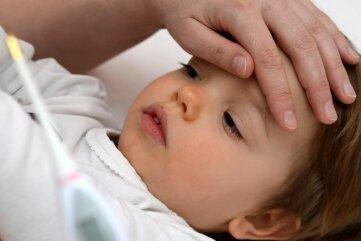 Fieber geht mit den meisten Krankheiten einher.
