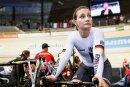 Kristina Vogel bei der Bahnrad-WM im März 2018 in Apeldoorn.