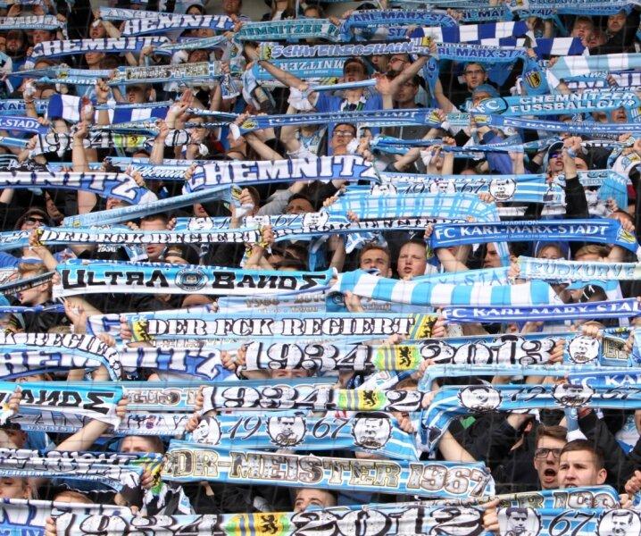 Die CFC-Fans können ihre Schals weiterhin in der Dritten Liga präsentieren.