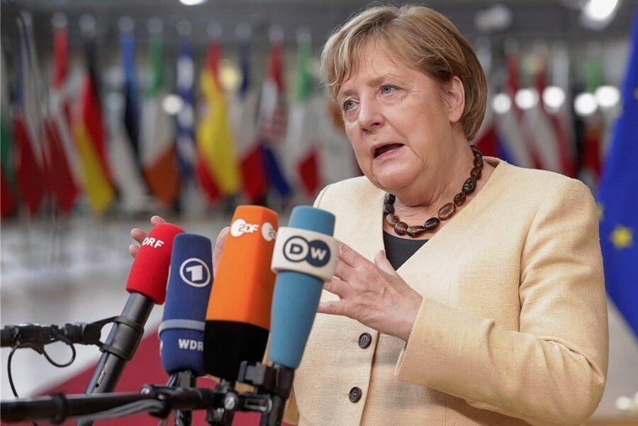 Versucht bei ihrem wohl letzten EU-Gipfel als Bundeskanzlerin zu schlichten: Angela Merkel.