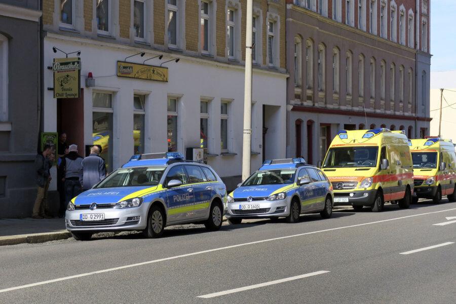 Drei Männer sind am Samstagmorgen in einer Shisha-Bar auf dem Chemnitzer Sonnenberg in eine Schlägerei geraten.