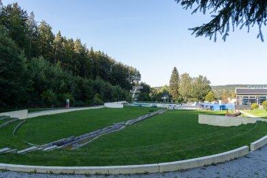 Wie sieht die Zukunft im Waldbad Brunn aus? Eine Projektgruppe aus fünf Stadträten soll Ausbauvarianten und Finanzierungsmöglichkeiten prüfen.