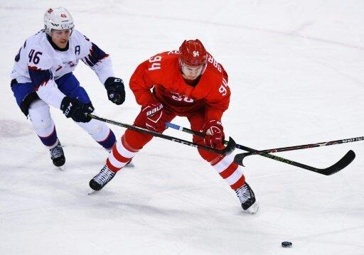 Russisches Eishockey-Team schlägt Norwegen bei Olympia