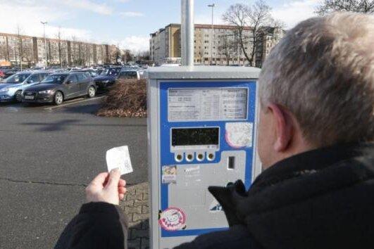 Parkscheinautomaten über Silvester außer Betrieb