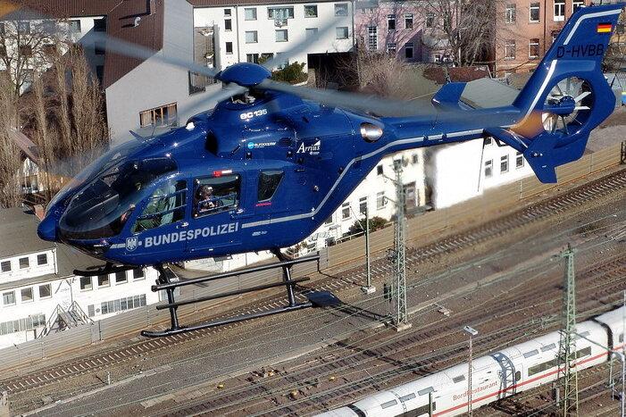 Bundespolizeihubschrauber EC 135