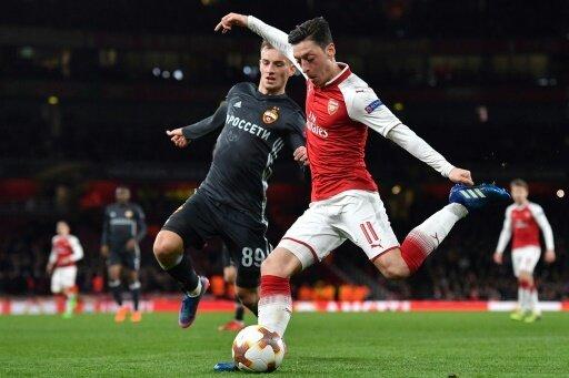 Starker Auftritt: Özil an allen Toren beteiligt