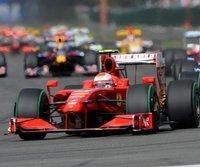 Kimi Räikkönen fuhr in Belgien zum Sieg
