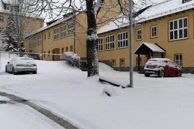 Der Schulhof der Auer Grundschule Auerhammer soll saniert werden.