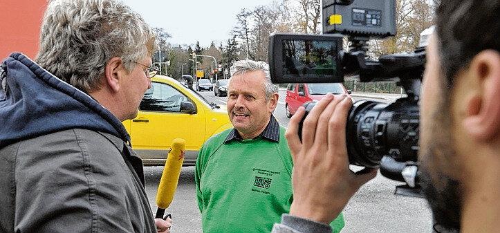 Werner Helfen wurde im Februar zum Medienstar.