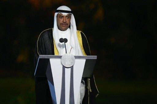 Lässt IOC-Ämter ruhen: Scheich Ahmad Al-Fahad Al-Sabah