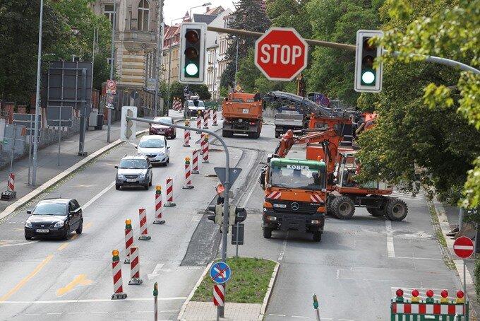Plauen: Autofahrer befürchten Verkehrsinfarkt
